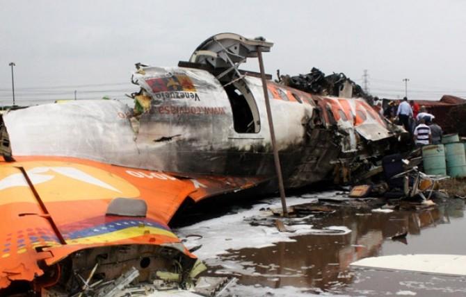 accident aviatic venezuela