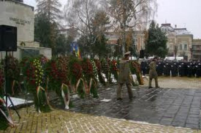 depuneri coroane manifestare militara