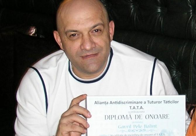 gabi balint, membru de onoare al T.A.T.A.