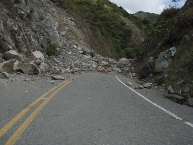 alunecare de teren - foto ilustrativ