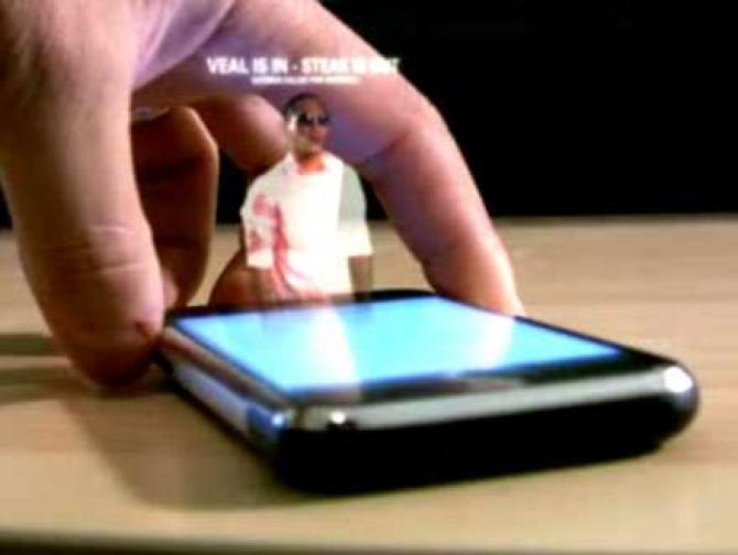 mobil holograma