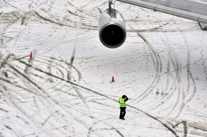 aeroport iarna
