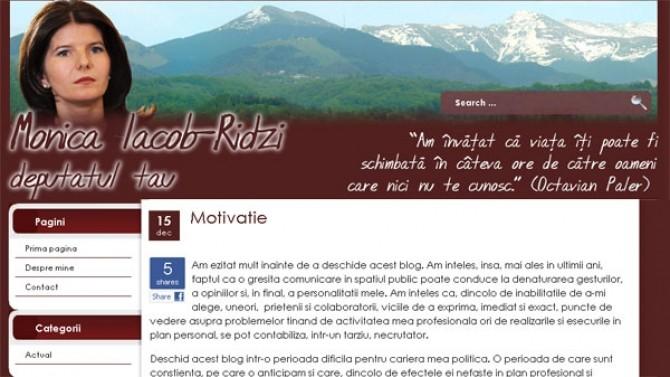 monica iacob ridzi blog