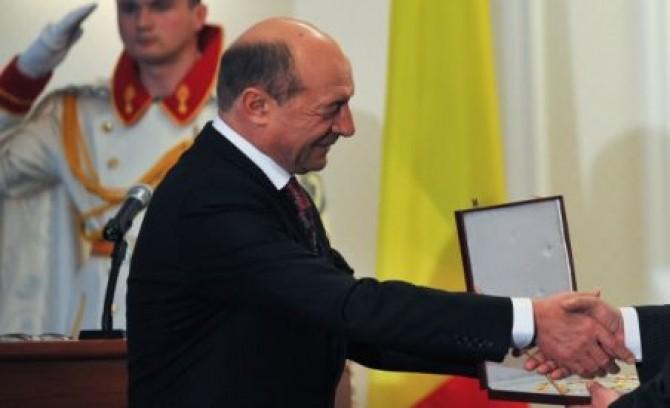 Presedintele Romaniei, Traian Basescu
