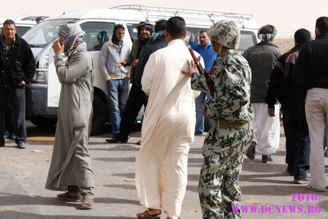 refugiati libia, la granita cu egiptul