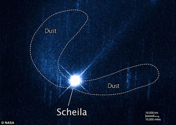 asteroid scheila