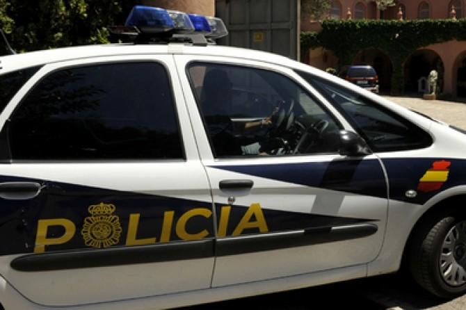 politia din spania