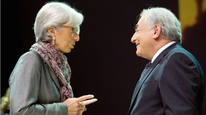 Christine Lagarde DSK