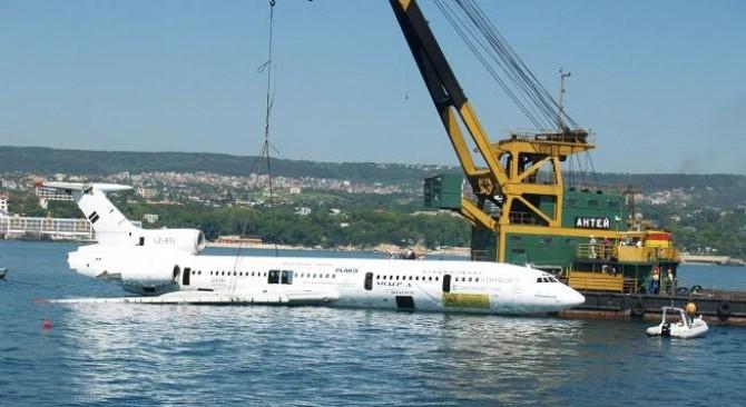 Avionul lui Todor Jivkov scufundat