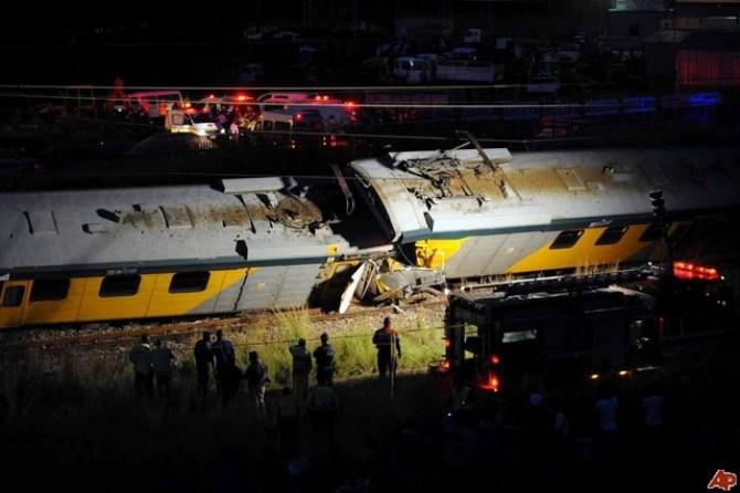 Grav accident feroviar în Africa de Sud: Sute de persoane au fost rănite