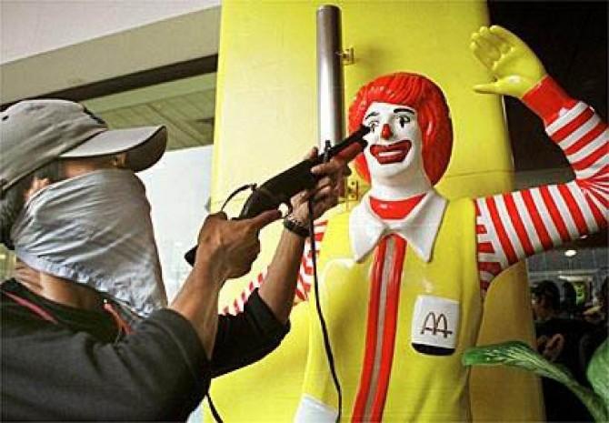 clown mcdonald