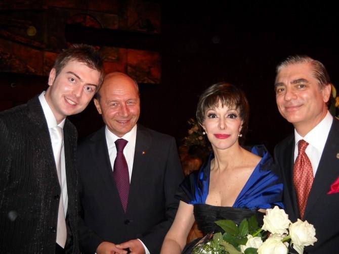 Traian Basescu, Printesa Lia si  Printul Paul