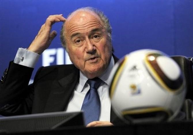 Joseph Blatter îşi anunţase prezenţa la amicalul cu Argentina
