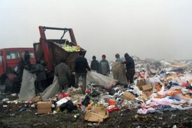 groapa de gunoi deva