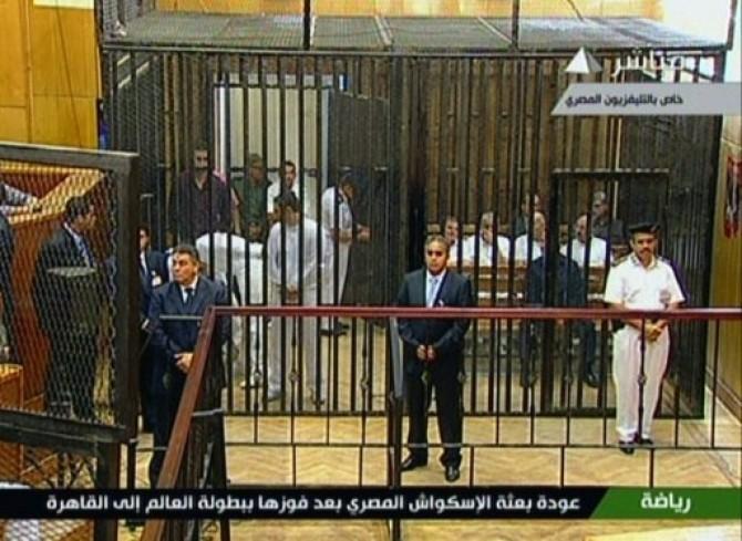 EGYPT-POLITICS-TRIAL-UNREST-MUBARAK