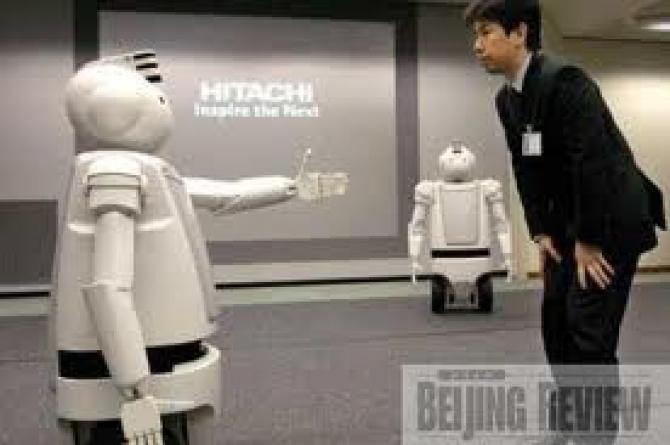 o firma din china isi inlocuieste angajatii cu roboti