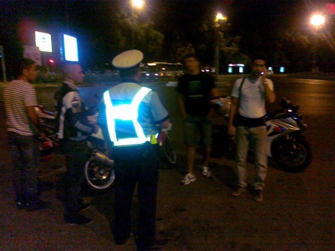 politie rar motociclete motoare control
