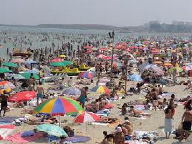 scandal pe plaja