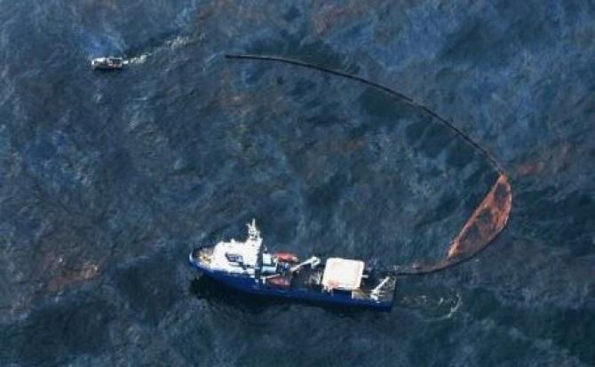 scurgere de petrol in Marea Nordului