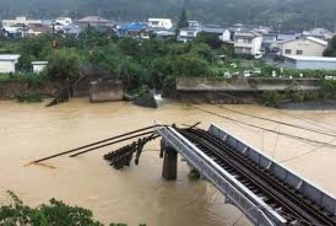 taifunul talas a facut prapad in Japonia