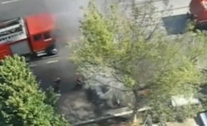 un taxi a ars langa gara basarab