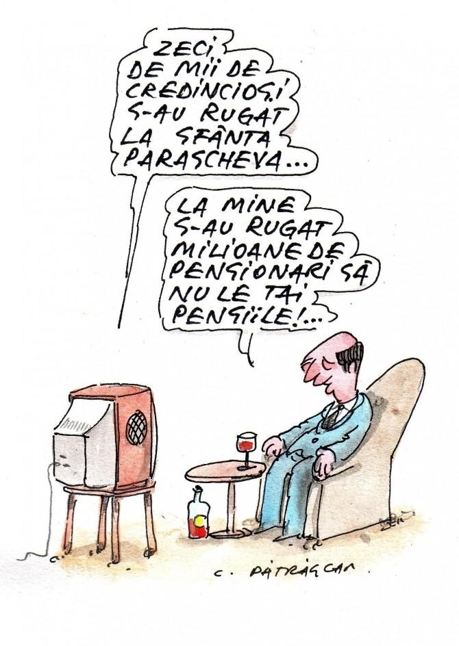 Caricatura zilei - 14 Octombrie 2011