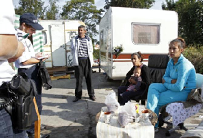 romi evacuare