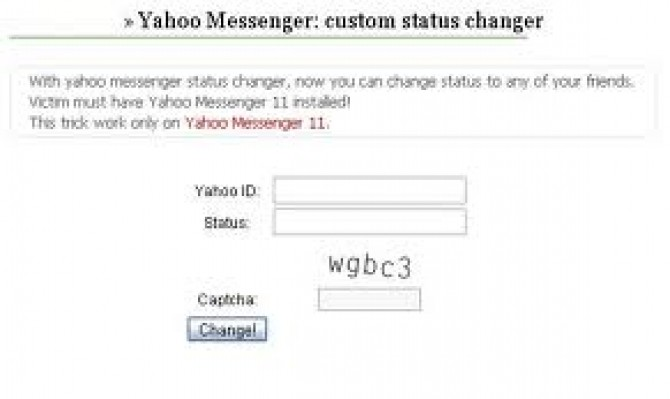 Status changer