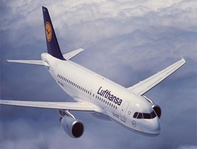 Lufthansa-airplane