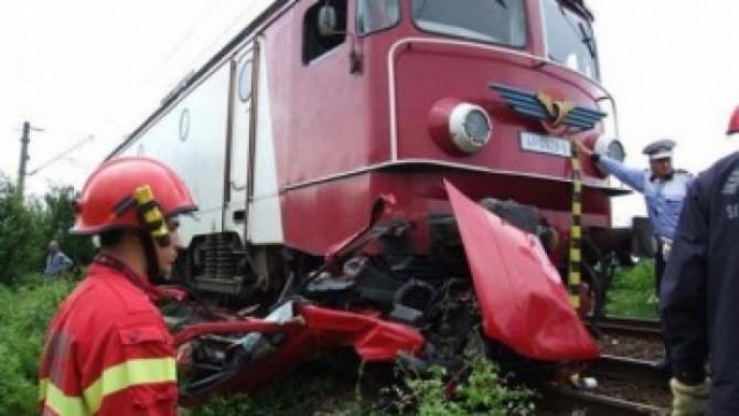accident tren / foto ilustrativ