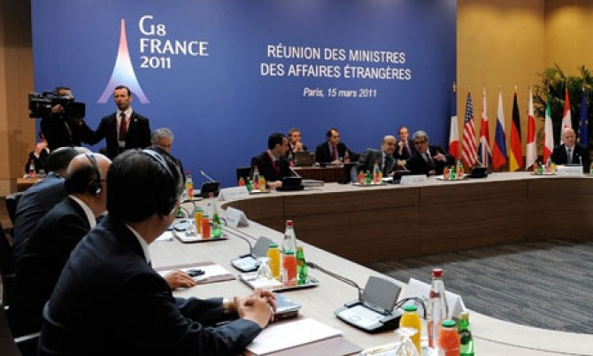 The-G8-ministers-meeting