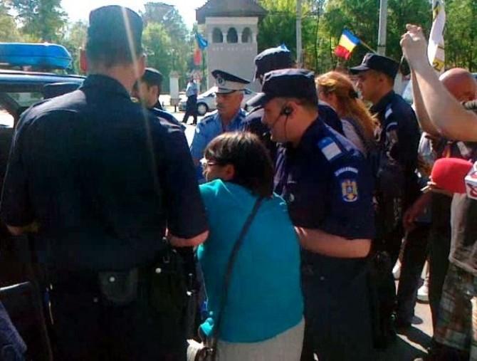 protest cotroceni
