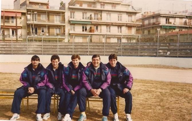 Grecia.Echipa Nationala.Joe Panait,Ioan Viorel,Nicolae Zamfir,Nea Rica si Gabi