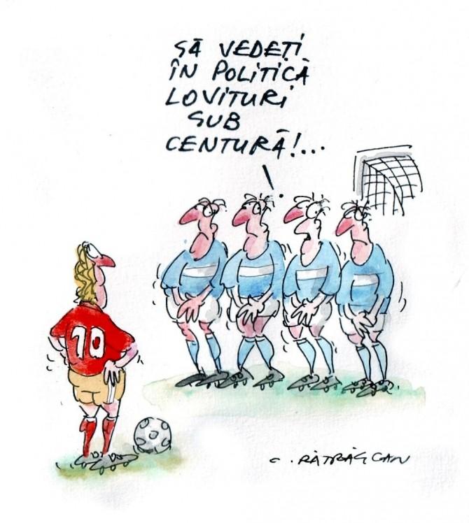Caricatura Zilei - 1 august 2012