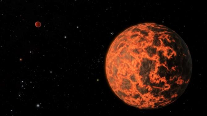 planeta lava