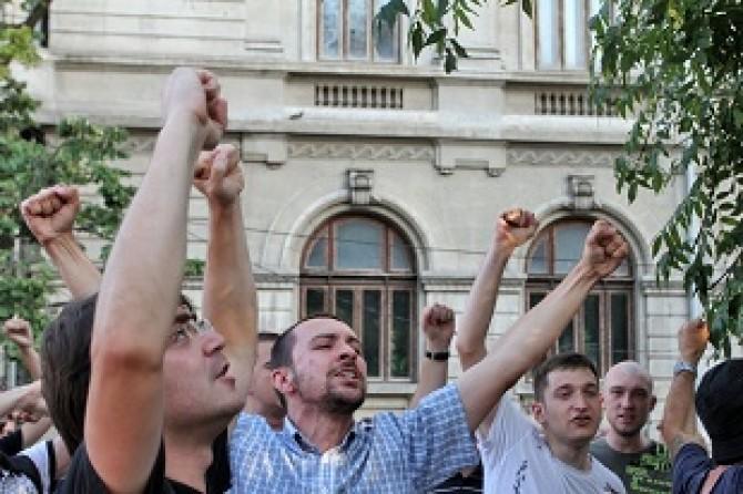PROTEST - PIATA UNIVERSITATII