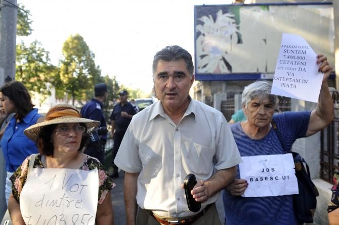 IOAN GHISE - ACTIUNE DE PROTEST
