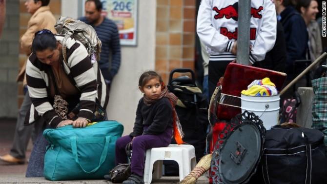 Romii - din nou în vizorul francezilor