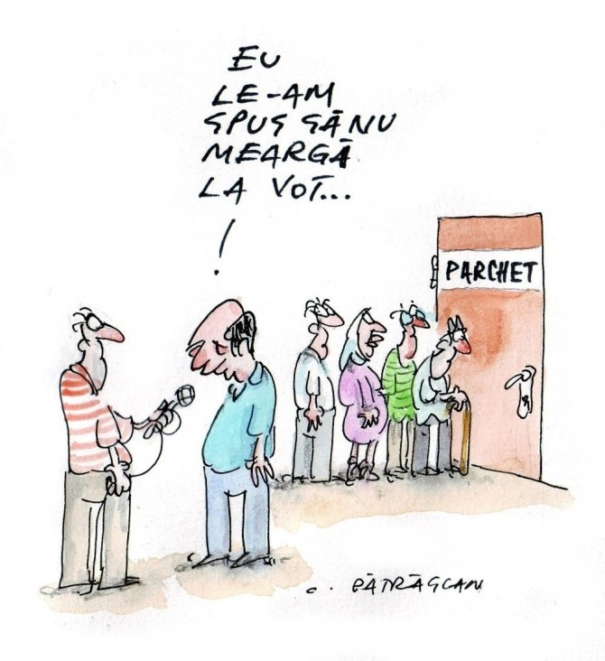 caricatura zilei, 18 august, 2012