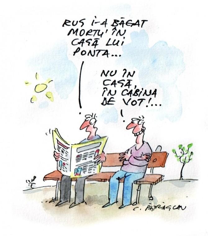 caricatura zilei, 9  august, 2012
