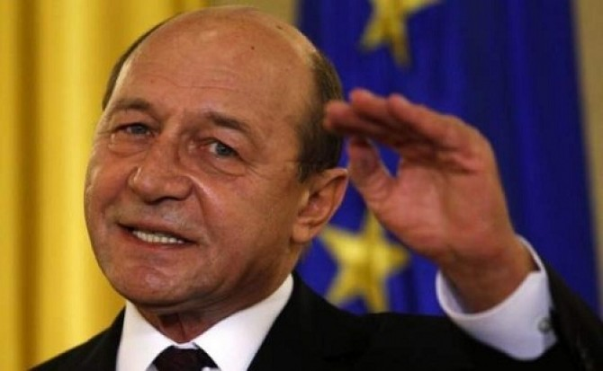 președintele suspendat Traian Băsescu