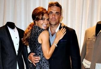 Robbie Williams impreuna cu sotia sa