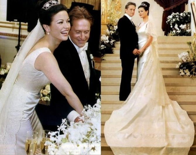 Catherine-Zeta-Jones-Michael-Douglas-nunta
