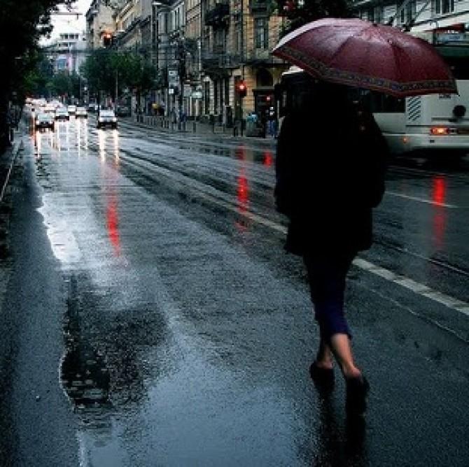Ploaie, vreme