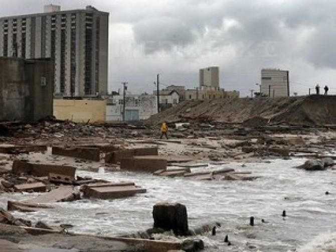 uraganul sandy dc
