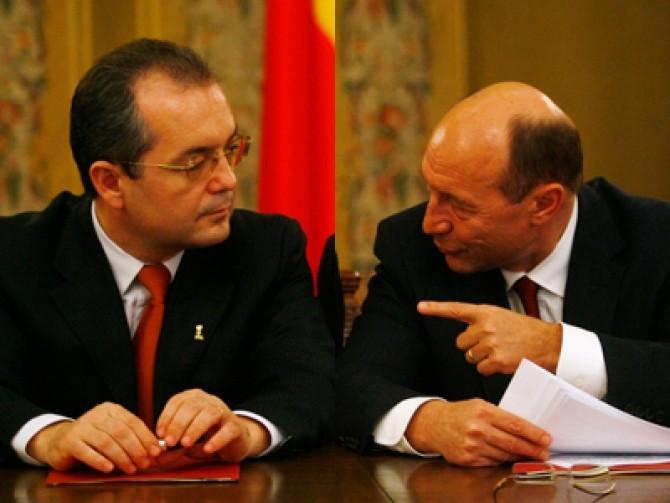 Băsescu și Boc dc