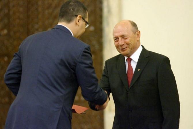 Victor Ponta - Traian Basescu