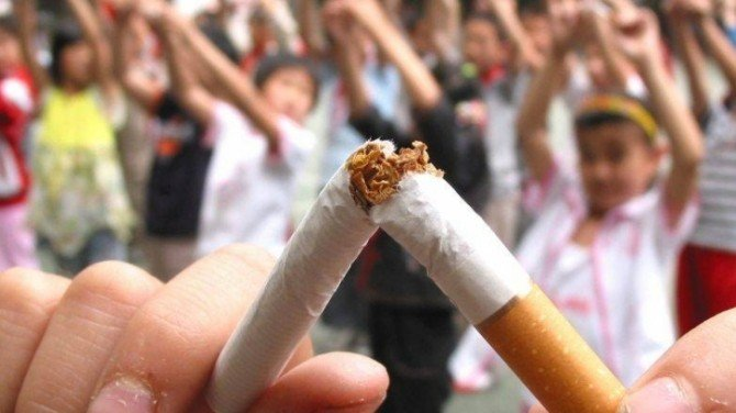 Atac la fumători