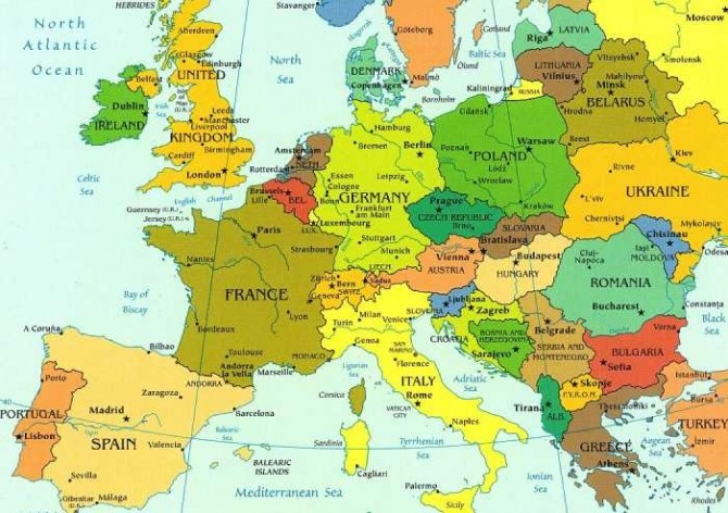 Schimbare Majoră Pe Harta Europei Scoția Vrea Independența Dcnews
