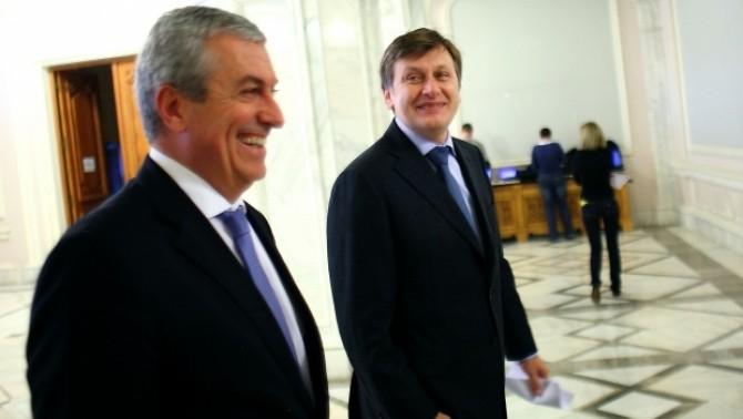 Călin Popescu Tăriceanu, Crin Antonescu